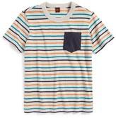 Tea Collection 'Elbe' Stripe Cotton T-Shirt (Toddler Boys & Little Boys)