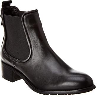 Aquatalia Oliviera Weatherproof Leather Bootie