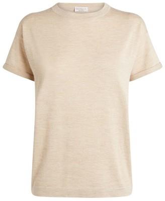 Brunello Cucinelli Cashmere-Silk T-Shirt