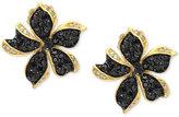 Effy Final Call Diamond Flower Stud Earrings (1 ct. t.w.) in 14k Gold