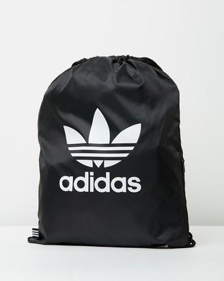 adidas Black Backpacks - Gymsack - Size One Size at The Iconic