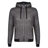 Dolce And Gabbana Twist Stitch Leather Lined Jacket
