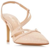 Head Over Heels Asymmetric Pointed Court Shoes