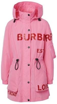 Burberry Horseferry Taffeta Parka