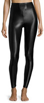 Koral Activewear Lustrous High-Rise Athletic Leggings, Black
