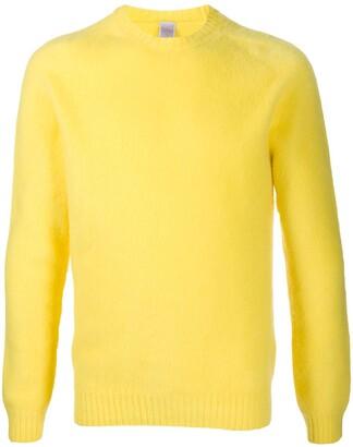 Eleventy Textured Crew-Neck Sweater