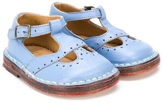 Pépé Leather Crib Shoes