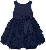 American Princess Baby Girl American Princess Satin Petal Dress