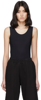 MM6 MAISON MARGIELA Black Sleeveless Bodysuit