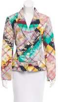 Christian Lacroix Abstract Print Two-Button Jacket