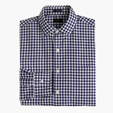 J.Crew Ludlow spread-collar shirt in navy gingham
