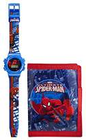 Spiderman Marvel Ultimate Boy's Watch and Wallet Set