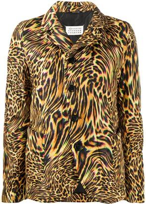 Maison Margiela Leopard-Print Blazer