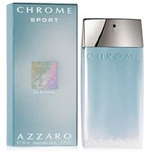 Azzaro Chrome Sport For Men Eau-de-toilette Spray By Loris Azzaro, 3.4-Ounce