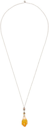 Panconesi Yellow Drop Necklace