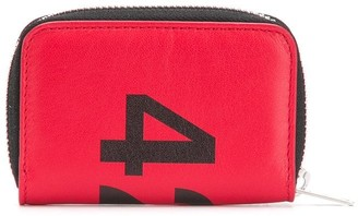 424 Logo Zipped Card Holder