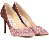 Jimmy Choo Romy 85 Glitter Pumps