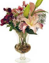 Winward Silks 16 Lilac Arrangement in Vase, Faux