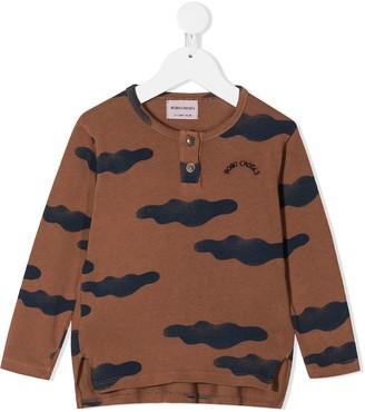 Bobo Choses cloud-print organic cotton T-shirt