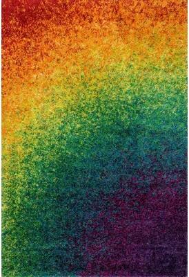 Loloi Rugs Barcelona Shag Power Loom Rainbow Rug