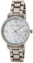 Steve Madden Women&s Diamond Dial Alloy Bracelet Watch
