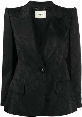 Fendi Structured Shoulder Jacket