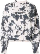 Bassike Abstract Print Sweatshirt