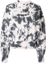Bassike abstract print sweatshirt