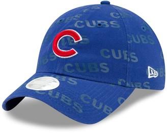 New Era Women's Royal Chicago Cubs Worded 9TWENTY Adjustable Hat