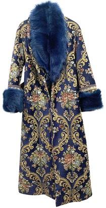 Camilla Burgundy Cotton Coat for Women