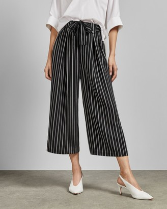 Ted Baker SHERLII Striped belted culottes