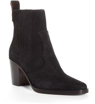 Ganni Short Western Boot
