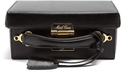 Mark Cross Grace Small Pebble Leather Shoulder Bag - Womens - Black