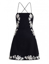 Zimmermann Divinity Motif Lace Back Dress