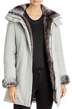 Save The Duck Arctic Faux Fur Trim Parka