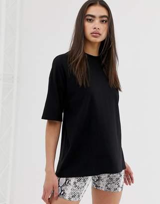 Asos Design DESIGN super oversized t-shirt with wash in black