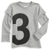 Nununu Toddler Girl's Numbered Tee