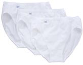Sloggi Tai Briefs, Pack of 3, White