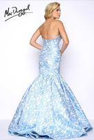 Mac Duggal Prom - 66018 Bustier Gown In Powder Blue