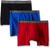 Fruit of the Loom Men's Everyday Active Trunk Boxer Brief (Pack of 3)