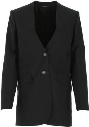 Givenchy Collarless Tailored Blazer