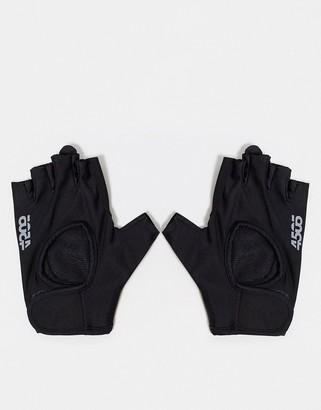 ASOS 4505 padded fingerless gym gloves with adjustable strap