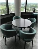 "Art Marble Furniture Storm Quartz Table Top Art Marble Furniture Size: 30"" L x 30"" W"