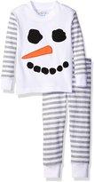 Sara's Prints Toddler Boys' Quality Cotton Long John Pajama Set