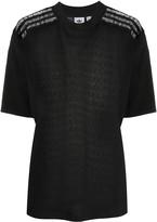 adidas lace-back T-shirt
