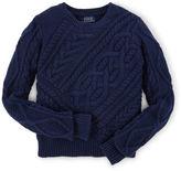 Ralph Lauren Aran-Knit Sweater