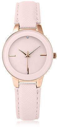 Mixit Womens Strap Watch-Pt3124rgbh Family