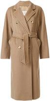 Max Mara belted waist coat - women - Cupro/Viscose/Cashmere/Metallic Fibre - 40