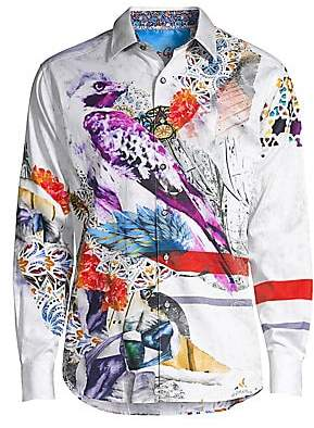 Robert Graham Men's Classic-Fit Maltese Falcon Long-Sleeve Shirt