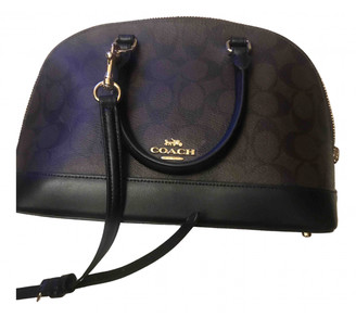 Coach Smooth Crossbody Black Leather Handbags